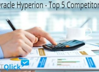 Oracle Hyperion - Top 5 Competitors