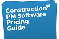 Construction software Pricing Guide