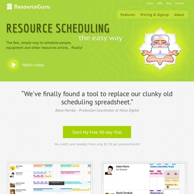 Resource Guru review