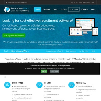 RecruitmentWorx Software review