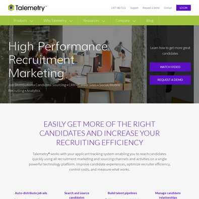 Talemetry Recruiting Tools - Pricing & Cost (Apr 2019) | ITQlick