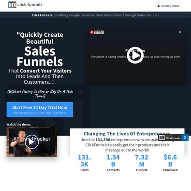 Clickfunnels Competitors Can Be Fun For Everyone