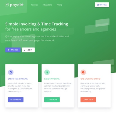 Paydirt Time tracking review