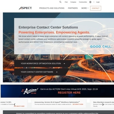 Aspect Via Customer Engagement Center Software review