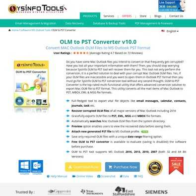 SysInfoTools OLM to PST Converter Review - Wh    | ITQlick