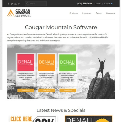 Cougar Business Accounting Pricing