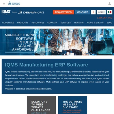IQMS Manufacturing ERP review