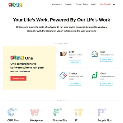 Zoho People review