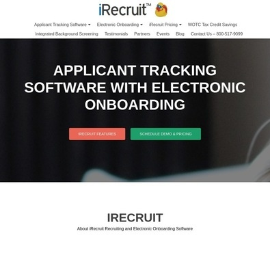 iRecruit Pricing