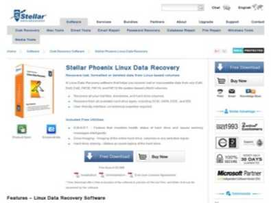 Stellar Phoenix Linux Data Recovery review