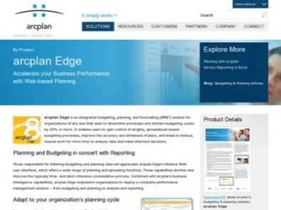 arcplan Edge review