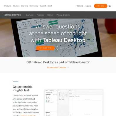 Tableau Software Pricing