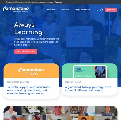 Cornerstone Learning Management Software review