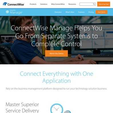 ConnectWise Manage review