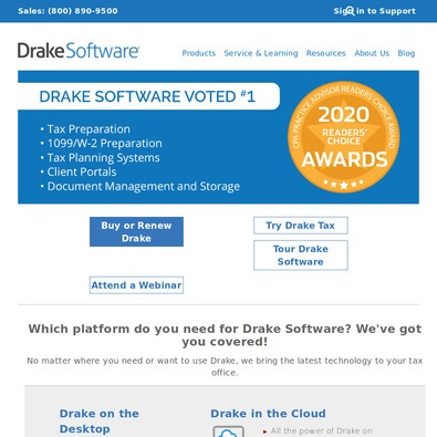 Drake Software - Pricing & Cost (Apr 2019) | ITQlick