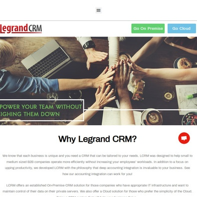 Legrand Crm Pro Edition review