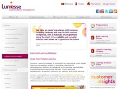 Lumesse Learning Gateway Pricing