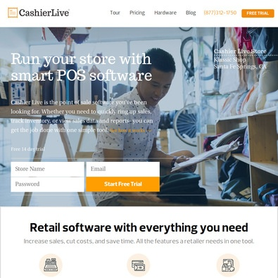 Cashier Live review