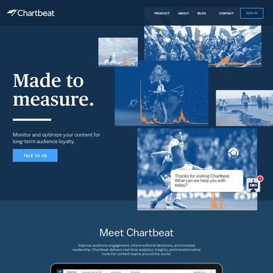 chartbeat demo