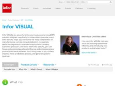 Infor VISUAL review