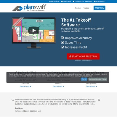 PlanSwift construction review