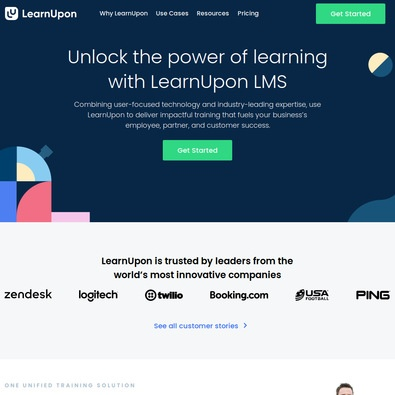 LearnUpon review