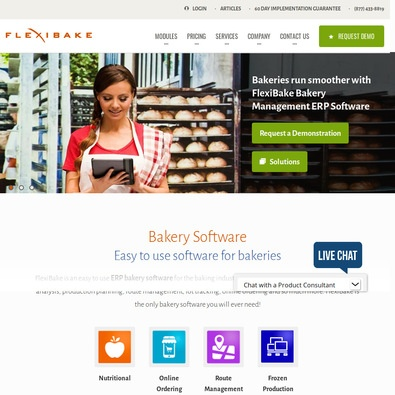 FlexiBake ERP review