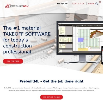 PrebuiltML Takeoff Software review