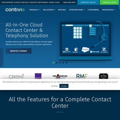 Contivio Contact Center Vs. Salesforce