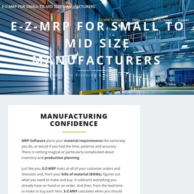 E-Z-MRP Manufacturing Software review